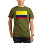 Colombia National Fla Organic Men's T-Shirt (dark)