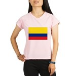 Colombia National Flag Performance Dry T-Shirt