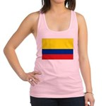 Colombia National Flag Racerback Tank Top