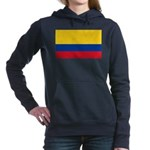 Colombia National Flag Women's Hooded Sweatshirt