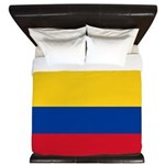 Colombia National Flag King Duvet