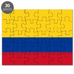 Colombia National Flag Puzzle