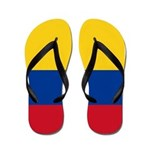 Colombia National Flag Flip Flops