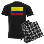 Colombia National Flag Men's Dark Pajamas