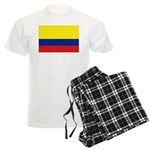 Colombia National Flag Men's Light Pajamas