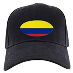 Colombia National Flag Black Cap