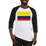 Colombia National Flag Baseball Jersey