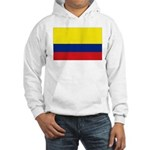 Colombia National Flag Hooded Sweatshirt