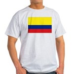 Colombia National Flag Light T-Shirt