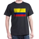 Colombia National Flag Dark T-Shirt