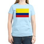 Colombia National Flag Women's Light T-Shirt