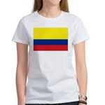 Colombia National Flag Women's T-Shirt