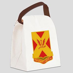 84 Field Artillery Canvas Lunch Bag