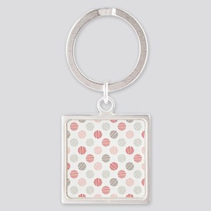 Scribble Dots Keychains