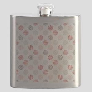 Scribble Dots Flask