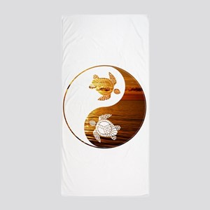 YN Turtle-02 Beach Towel