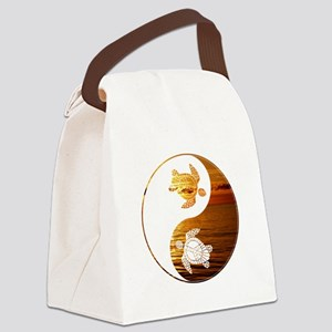 YN Turtle-02 Canvas Lunch Bag