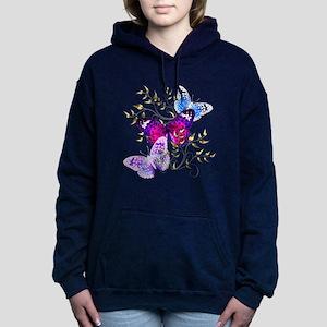 Papillons Women's Hooded Sweatshirt