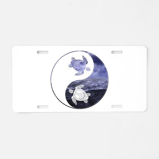 YN Turtle-01 Aluminum License Plate