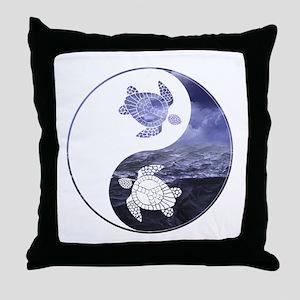 YN Turtle-01 Throw Pillow