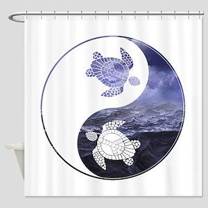 YN Turtle-01 Shower Curtain