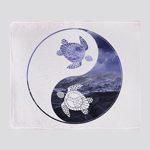 YN Turtle-01 Throw Blanket