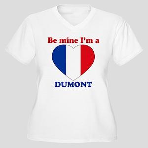 Dumont, Valentine's Day Women's Plus Size V-Neck T