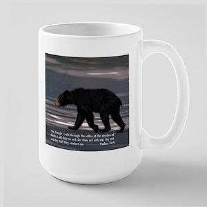 Shadow Of Death Bear - Psalms 23:4 Mugs