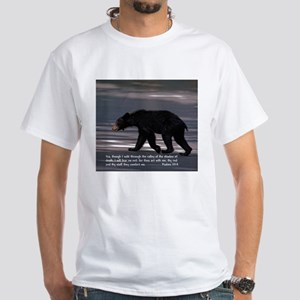 Shadow of Death Bear - Psalms 23:4 T-Shirt