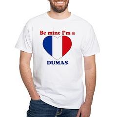 Dumas, Valentine's Day White T-Shirt