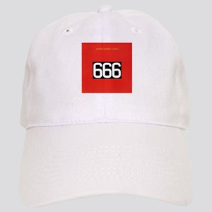2c8564ccb14da Child 666 Devil Evil God Funny Puns Hats - CafePress