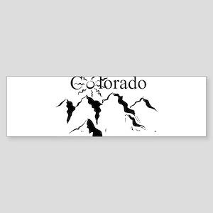colorado peaks Bumper Sticker