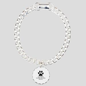 Love Sussex Spaniel Dog Charm Bracelet, One Charm