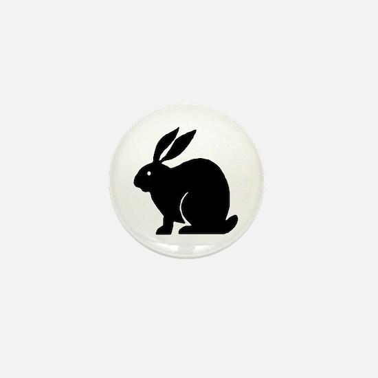 Bunny Rabbit Mini Button