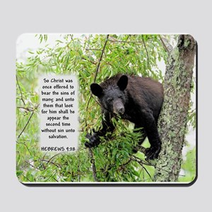 Bear The Sins - Hebrews 9:28 Mousepad
