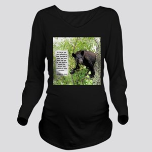 Bear The Sins - Hebrews 9:28 Long Sleeve Maternity