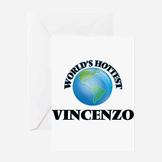 World's Hottest Vincenzo Greeting Cards