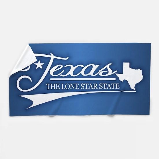 Texas State of Mine Beach Towel