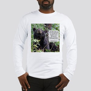 Mama Black Bear - Ephesians 5:2 Long Sleeve T-Shir