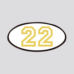 GOLD #22 Patches