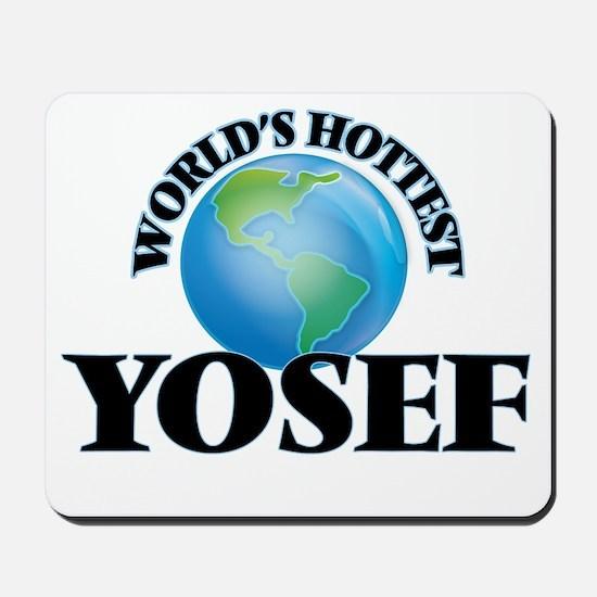 World's Hottest Yosef Mousepad