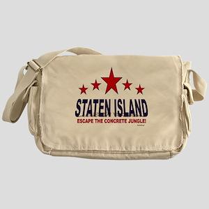 Staten Island Escape The Concrete Ju Messenger Bag