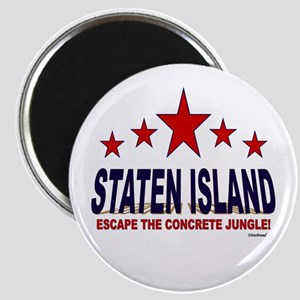 Staten Island Escape The Concrete Jungle Magnet
