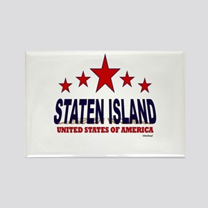 Staten Island U.S.A. Rectangle Magnet