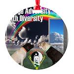 Change Adversity Ornament