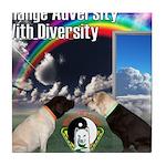 Change Adversity Tile Coaster