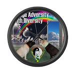Change Adversity Large Wall Clock