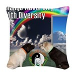 Change Adversity Woven Throw Pillow