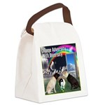 Change Adversity Canvas Lunch Bag