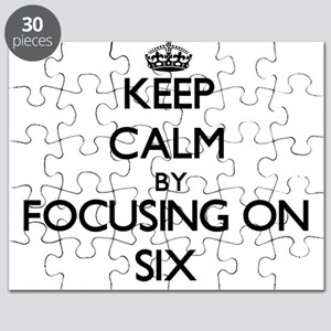 Keep Calm by focusing on Six Puzzle